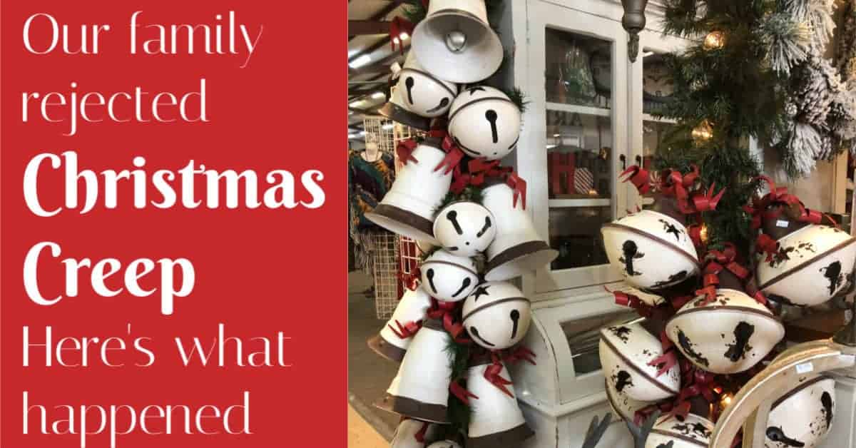 reject Christmas Creep
