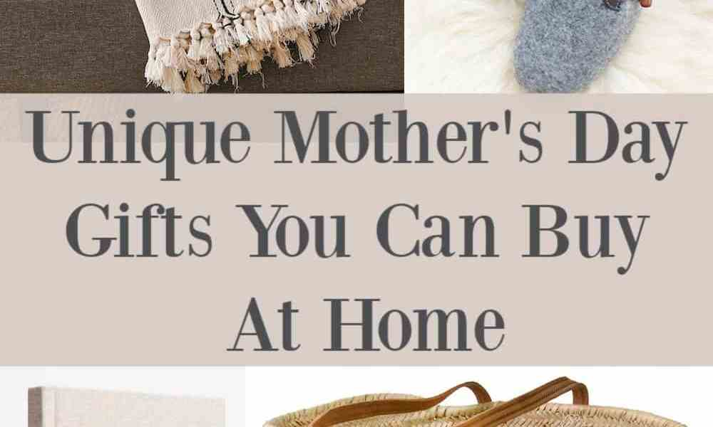 Mother's Day Gifts You Can Buy From Home 2020