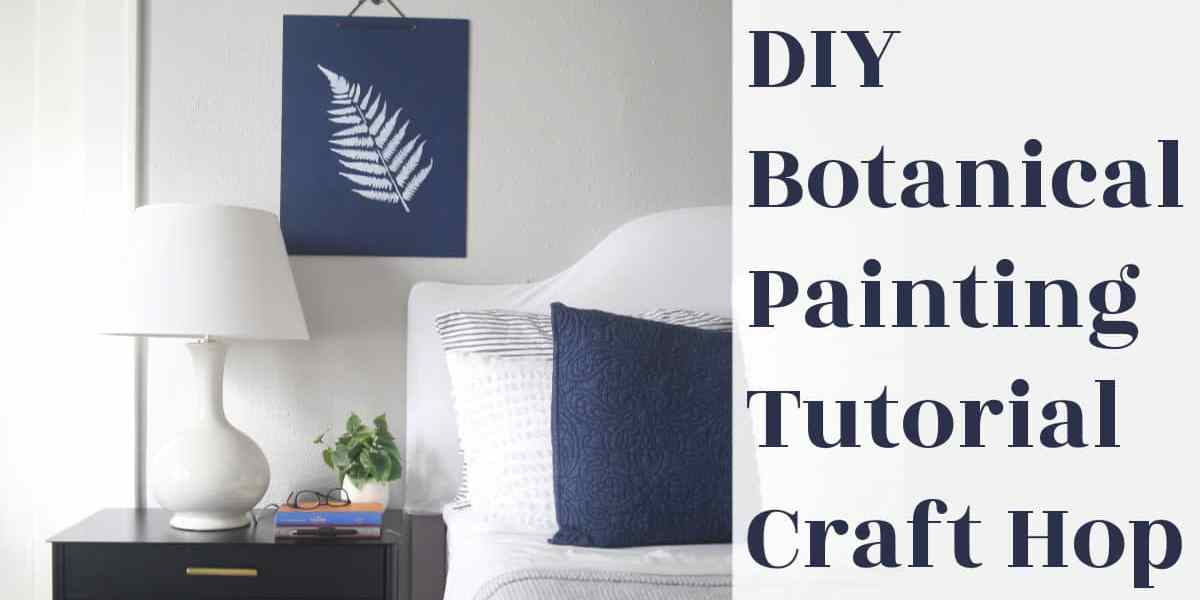 DIY Wall Art Botanicals