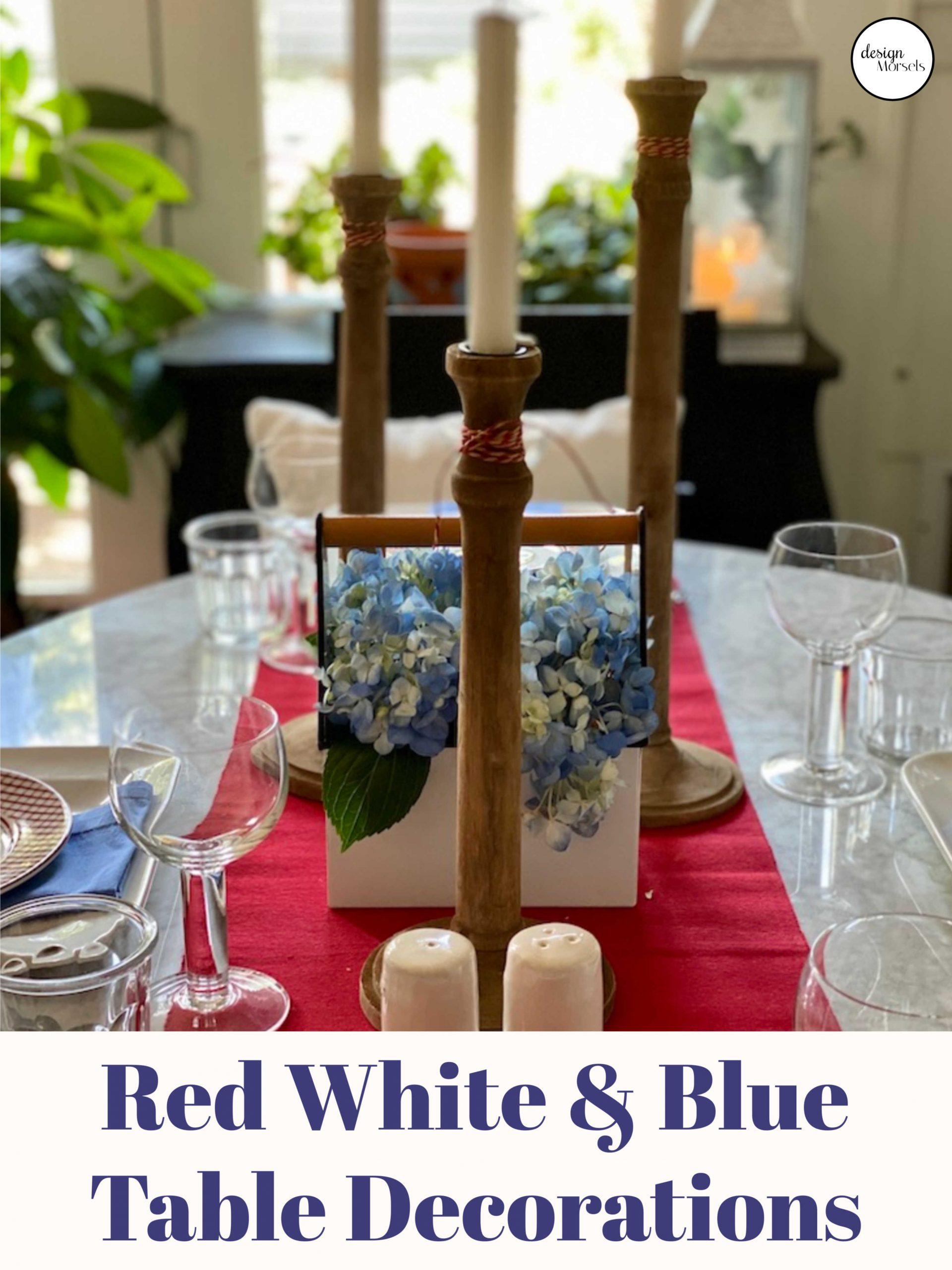 Patriotic table decorations