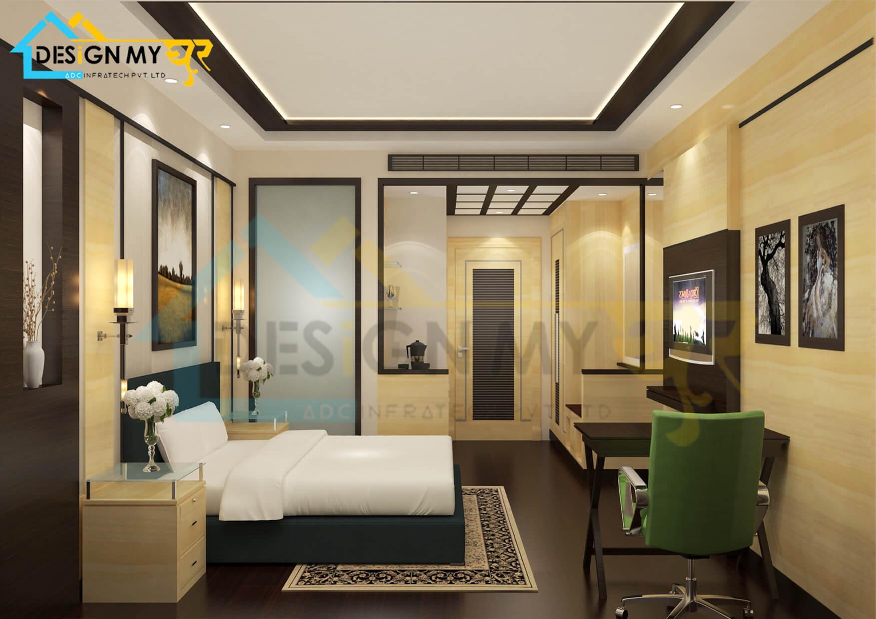 12x14 Master Bed Room Interior