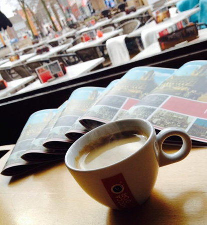 cafe bommel middelburg menukaarten