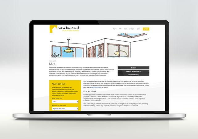 van huis uit middelburg webdesign
