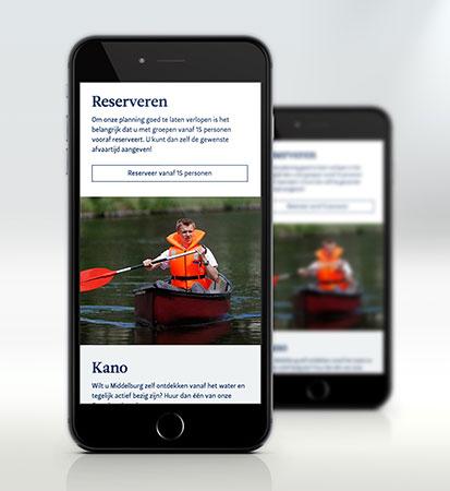 rondvaart middelburg mobile devices