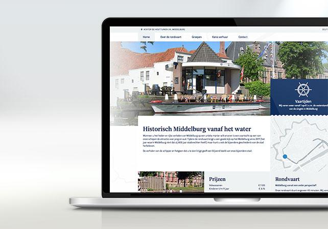 rondvaart middelburg webdesign