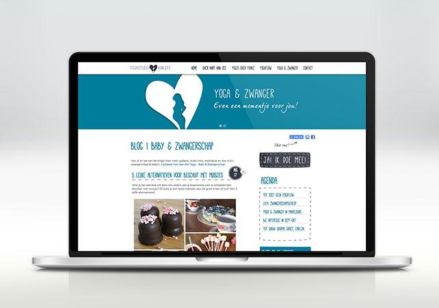 hart aan zee yoga website