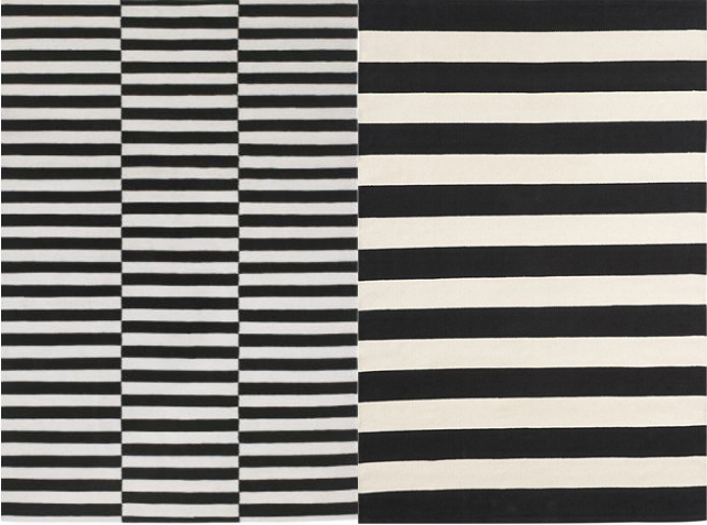 black white area rugs