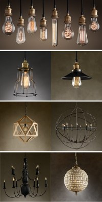 Restoration Hardware Lighting - Design Notations