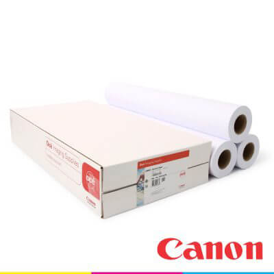 canon oce 120gsm poster paper roll 700mm x 100m 97004053