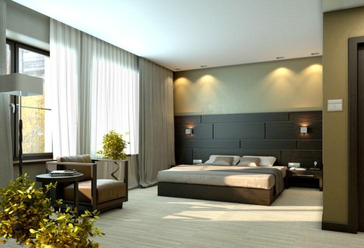 Modern Bedroom Design In White