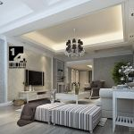 Modern Classic Living Room Interior Design