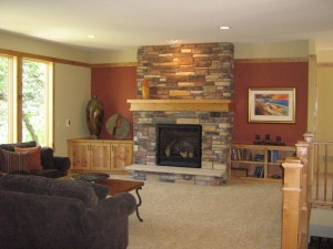 Accent Walls In Living Room BDIM