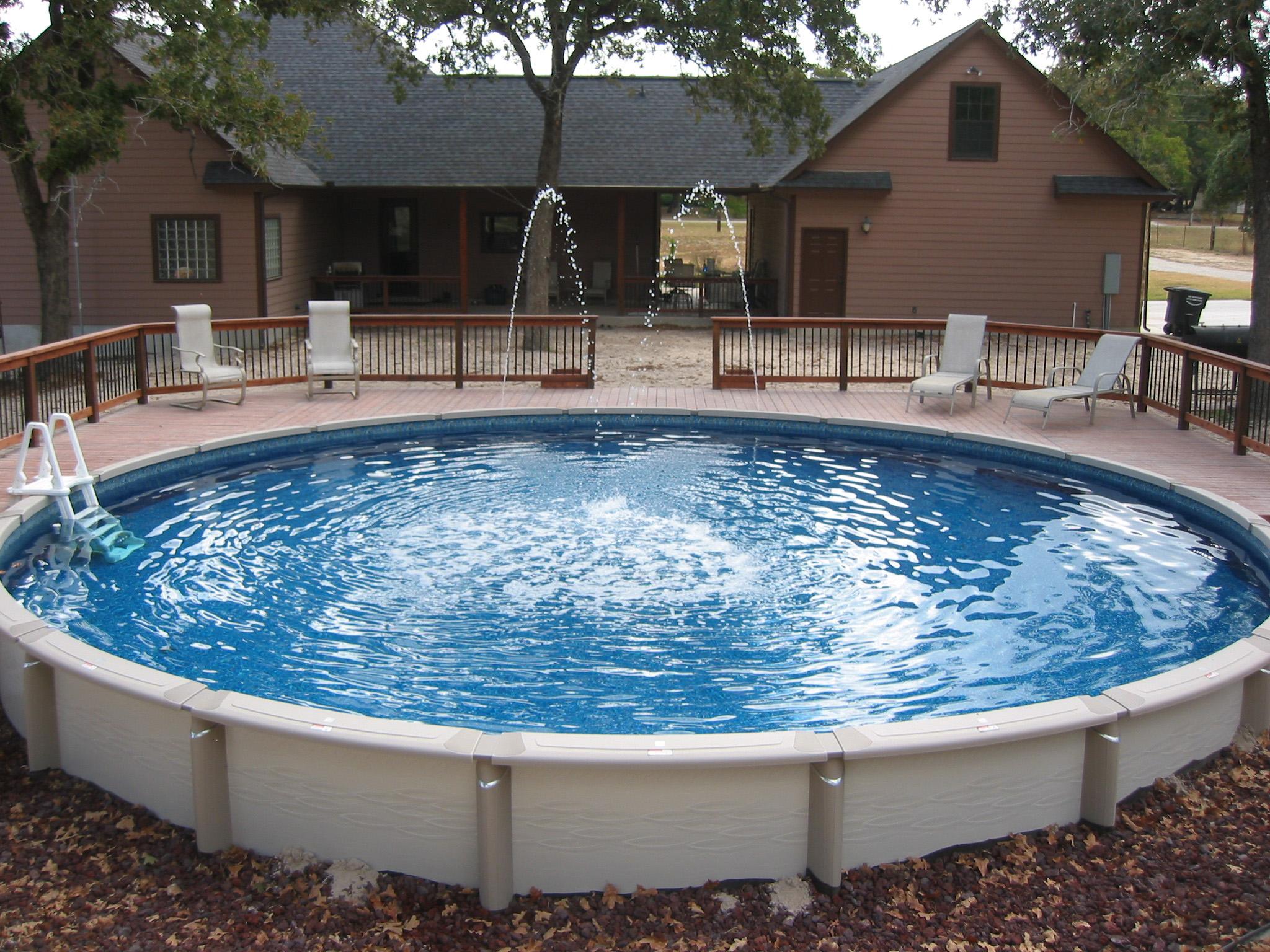 Best Above Ground Swimming Pools - Design On Vine