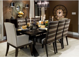 Contemporary Dining Room Lduk