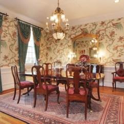 Artwork For Formal Living Room Floral Chairs Dining Wallpaper - Design On Vine