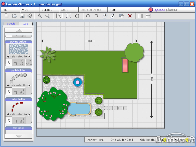 online-garden-design-tool-tmDf - Design On Vine. Design On Vine - garden design tool
