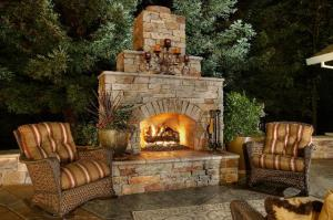 Outdoor Fireplace Designs IYlM