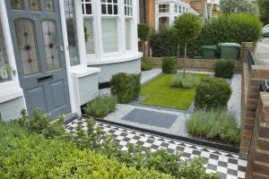 Small Front Garden Design NJuP