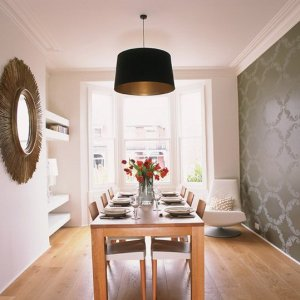 Wallpaper For Dining Room Ideas OJhw