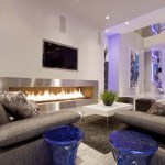 White Decoration For Living Room