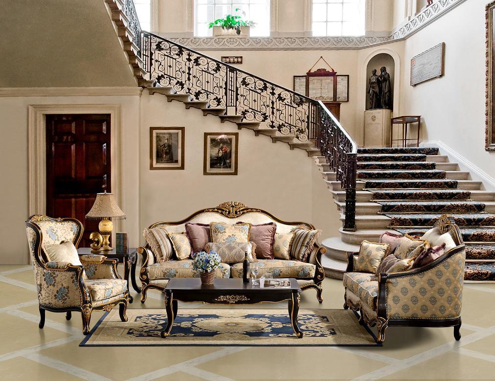 formal furniture of living room design