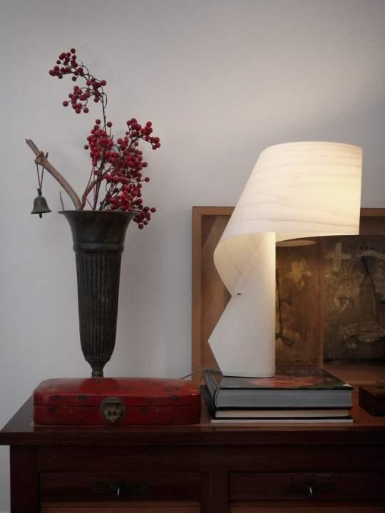 Tischleuchte Air in Weiss von LZF Lamps