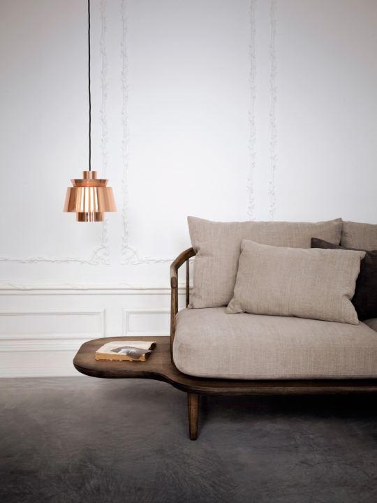 Pendelleuchte Uzten JU1 in Kupfer Design: Jørn Utzon