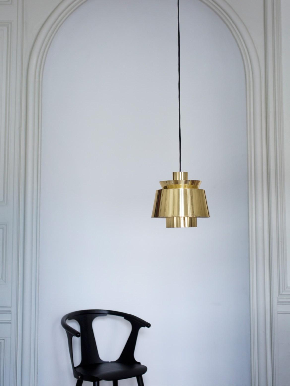 DesignOrt Blog: Messingleuchten Utzon &tradition Leuchte