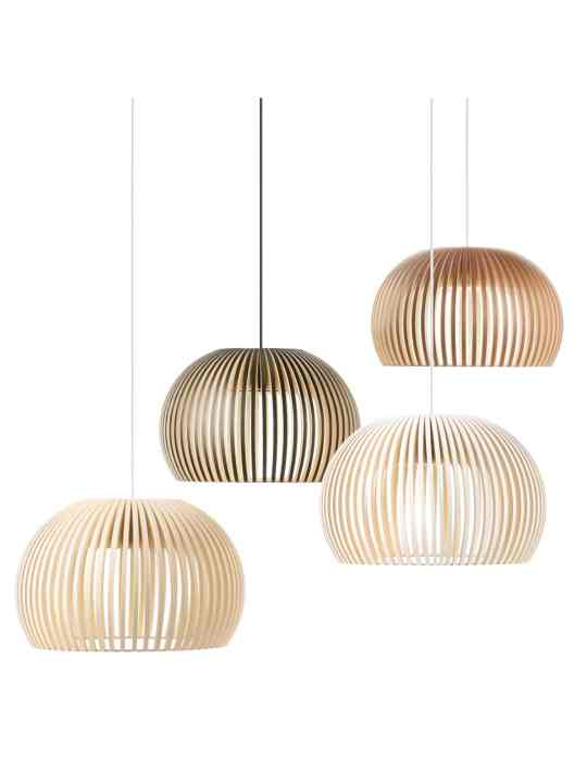 Holzlampe von Secto Design Atto 5000