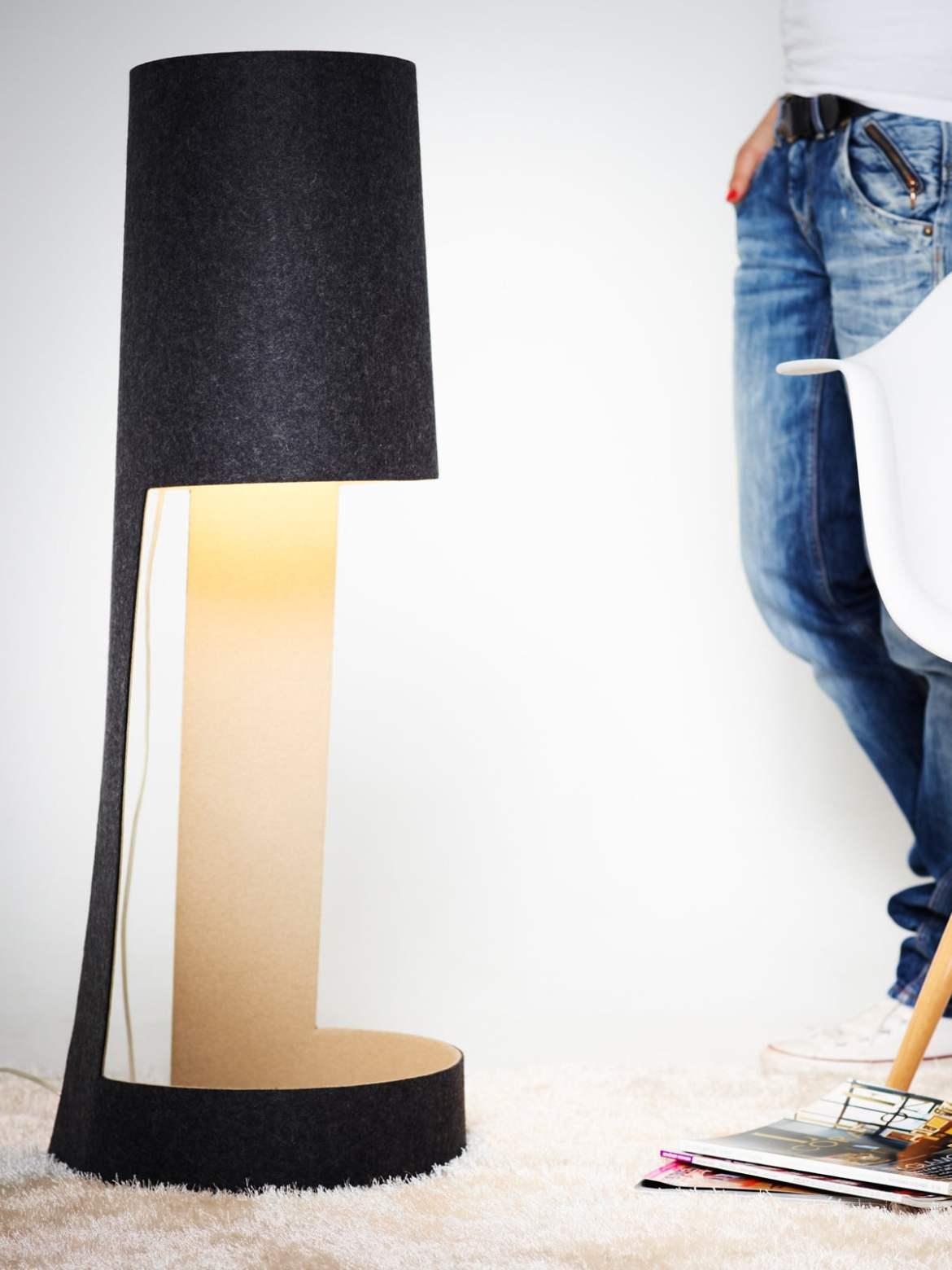 DesignOrt Blog: Trend: Bodenleuchten Mia XL von Domus
