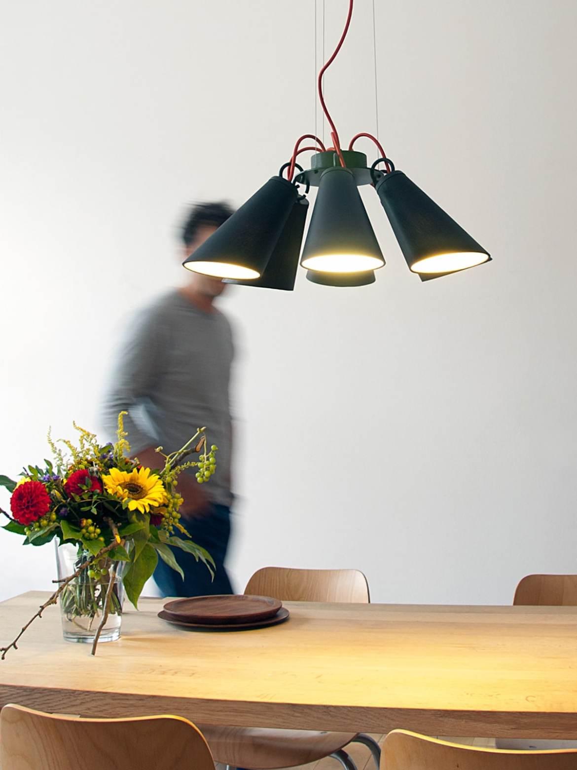 DesignOrt Blog: Moderne Kronleuchter und Lüster Pit 6 von Domus