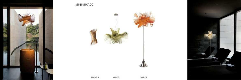 mini mikado LZF Design Holzleuchte