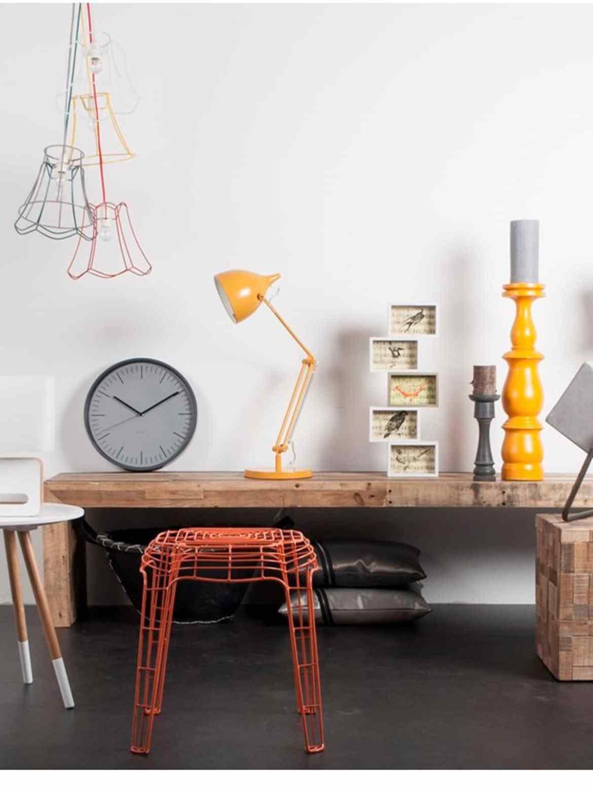 Designerleuchten als Geschenk Zuiver Reader Tisch DesignOrt
