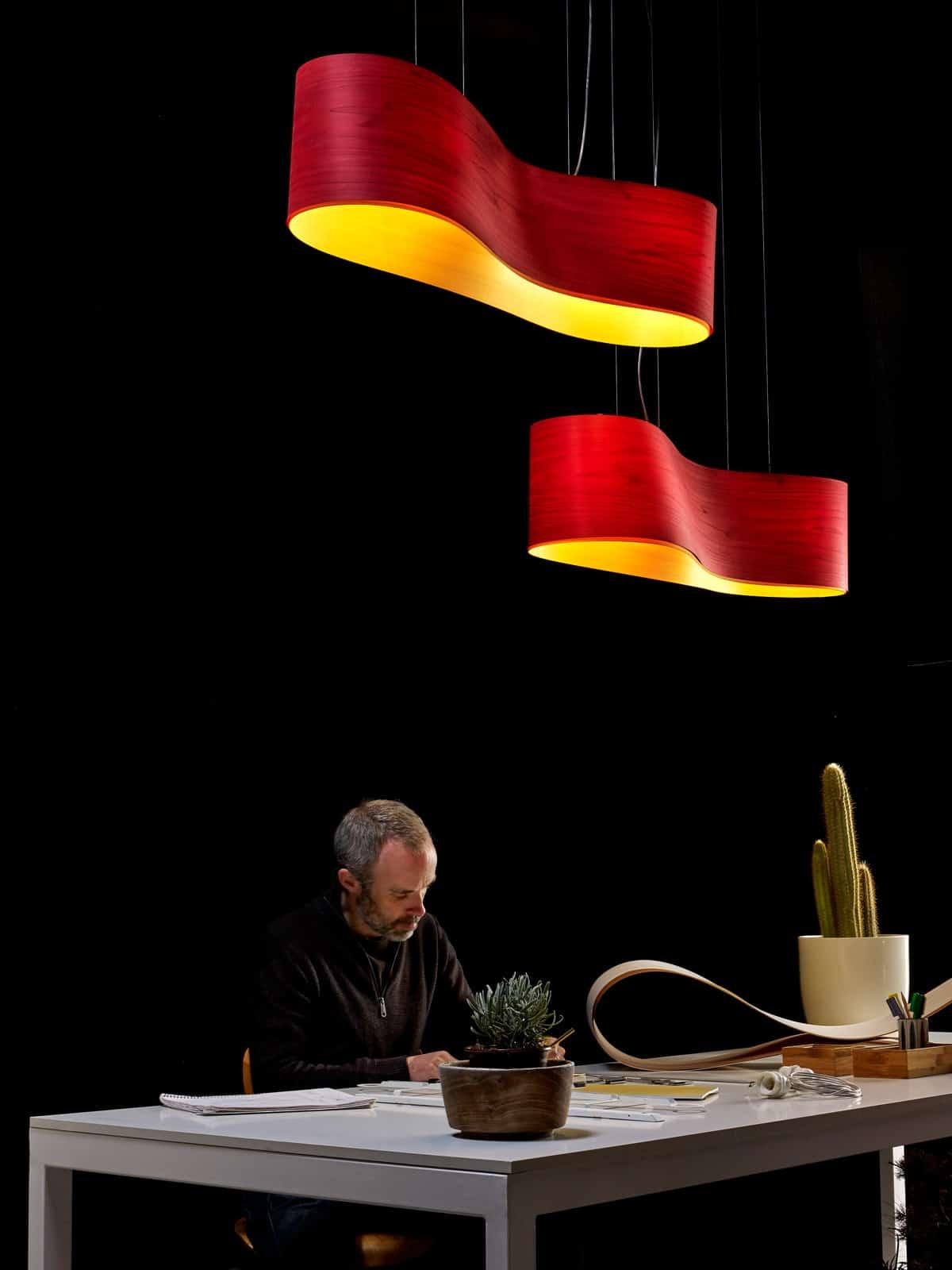 LZF-New-Wave-rot-deco Faszinierend Led Lampen Leuchten Nach Dekorationen