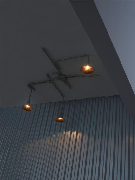 Designleuchte Light-Forest-OD1 an Decke