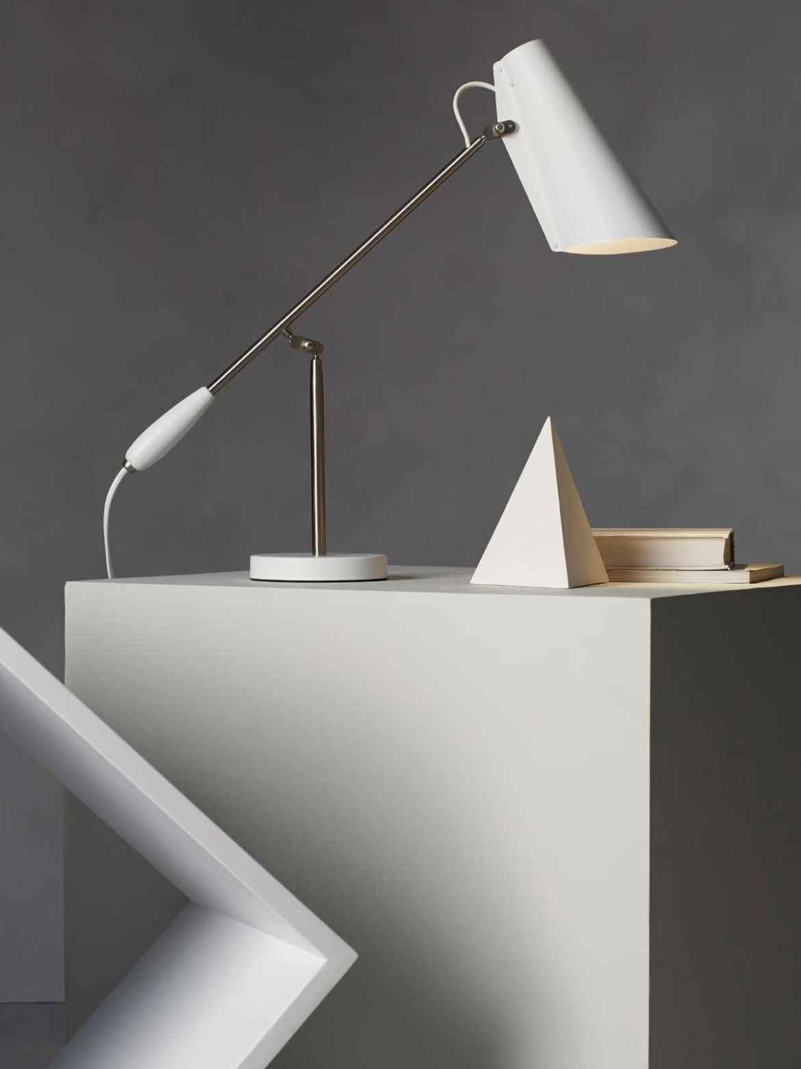 DesignOrt Blog: klassische Designerleuchten Birger Dahl Birdy Tischlampe