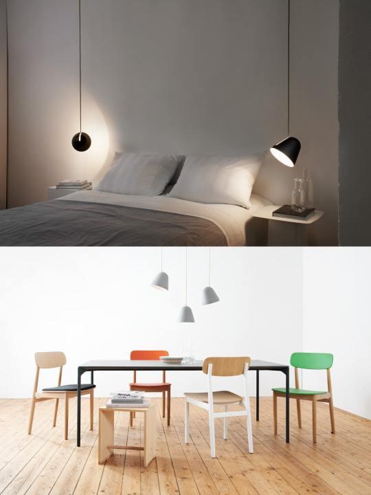 Nyta Tilt Designer Hängeleuchten im Raum