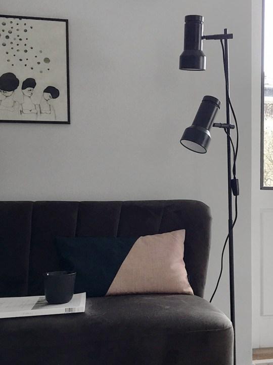 Stehlampe Klassik zweiflammig Frandsen