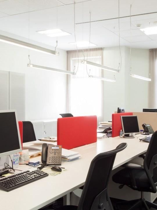 Neon de Luz als Bürobeleuchtung