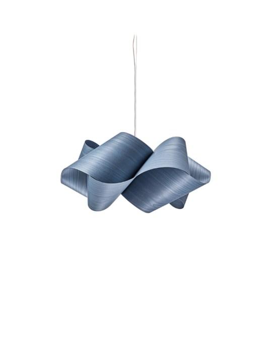 Pendellampe Swirl SP blau