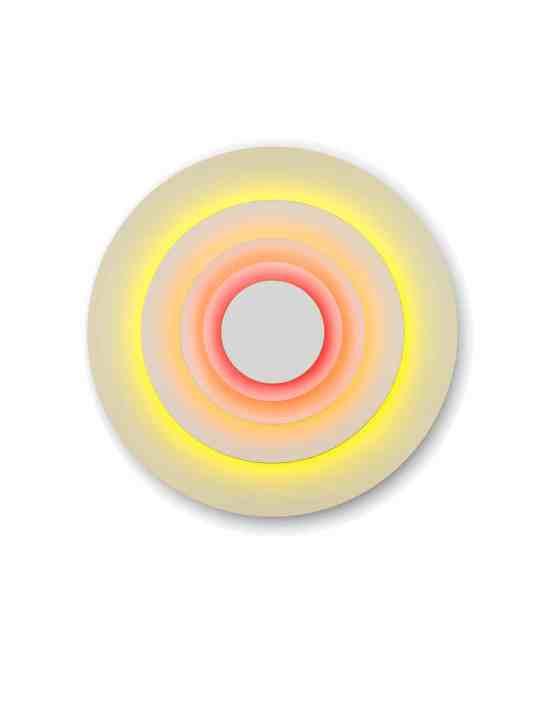 Wandleuchte Concentric L Corona