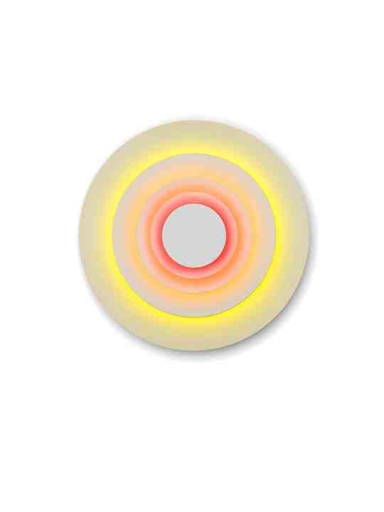 Wandleuchte Concentric M Corona