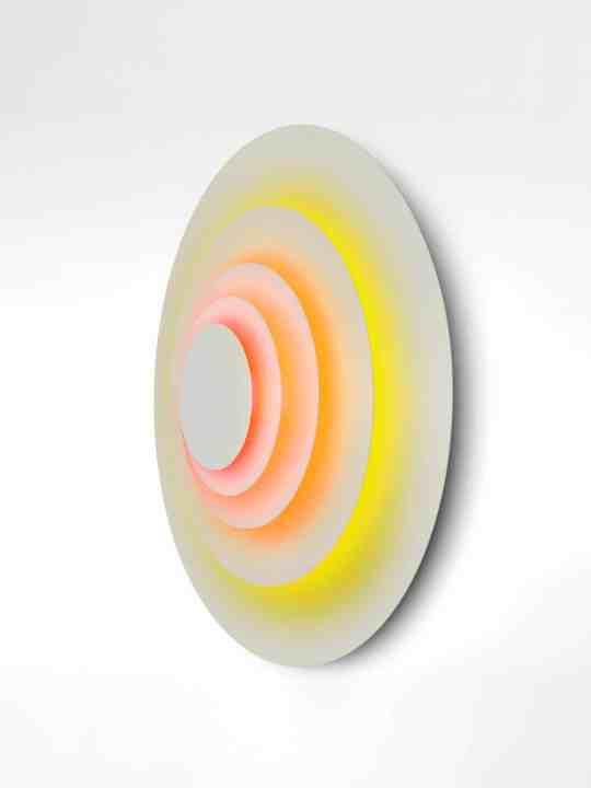 Wandleuchte Concentric Corona Seitenansicht
