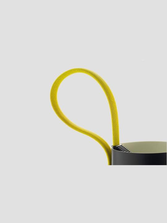 Rope Trick gelb Detail Seilschlaufe