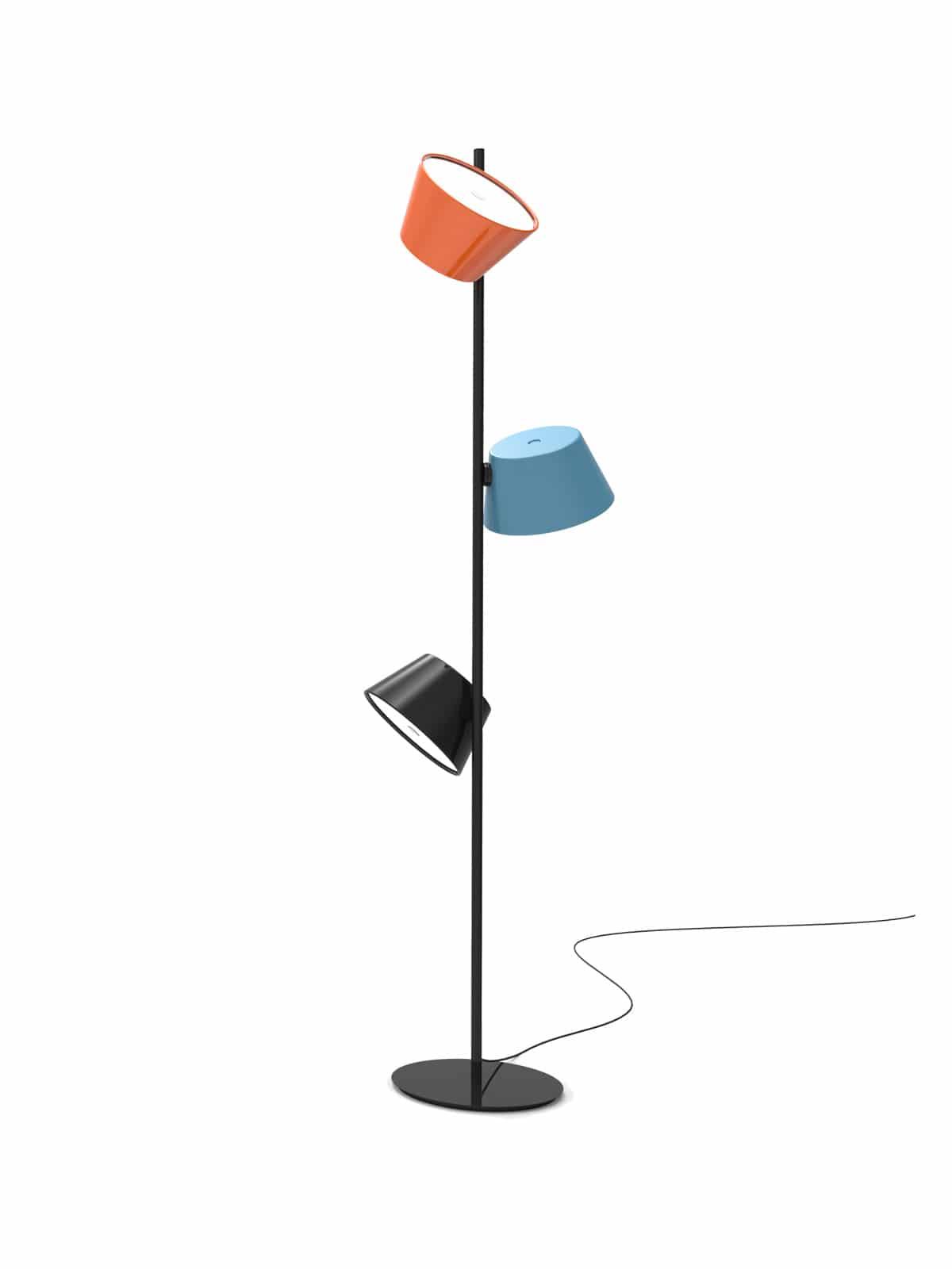 marset_tamtam-p3 Spannende Lampe Mit Mehreren Schirmen Dekorationen