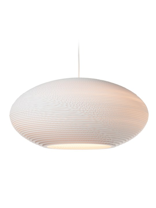 Graypants Pendellampen disc Scraplights white