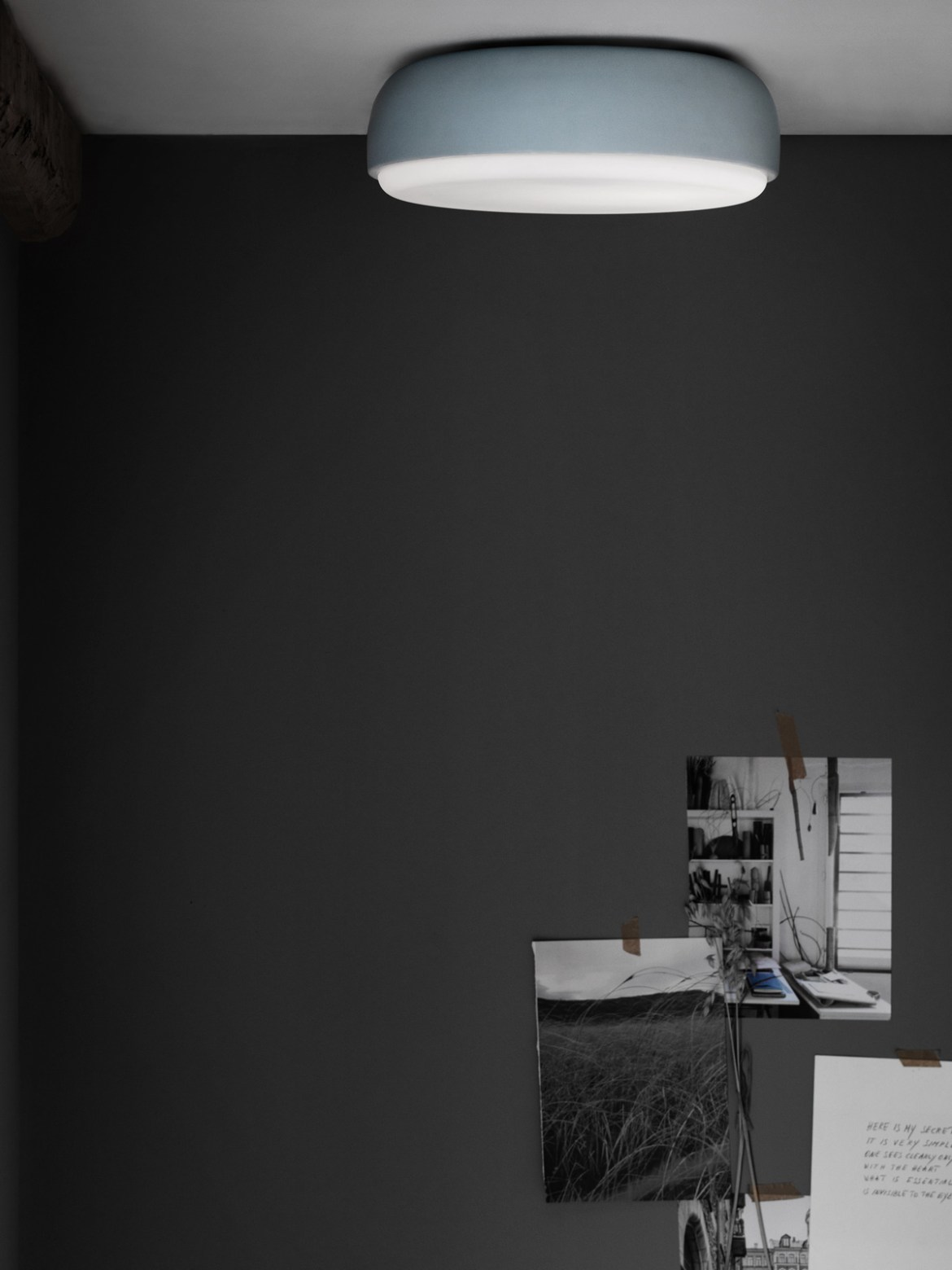Over Me Above dusty blue als Deckenleuchte Morten und Jonas Northern Lighting online kaufen