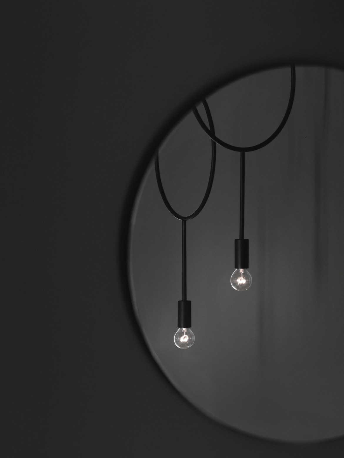 DesignOrt Blog: Trend: Nackte Glühbirne Circle Northern Lighting