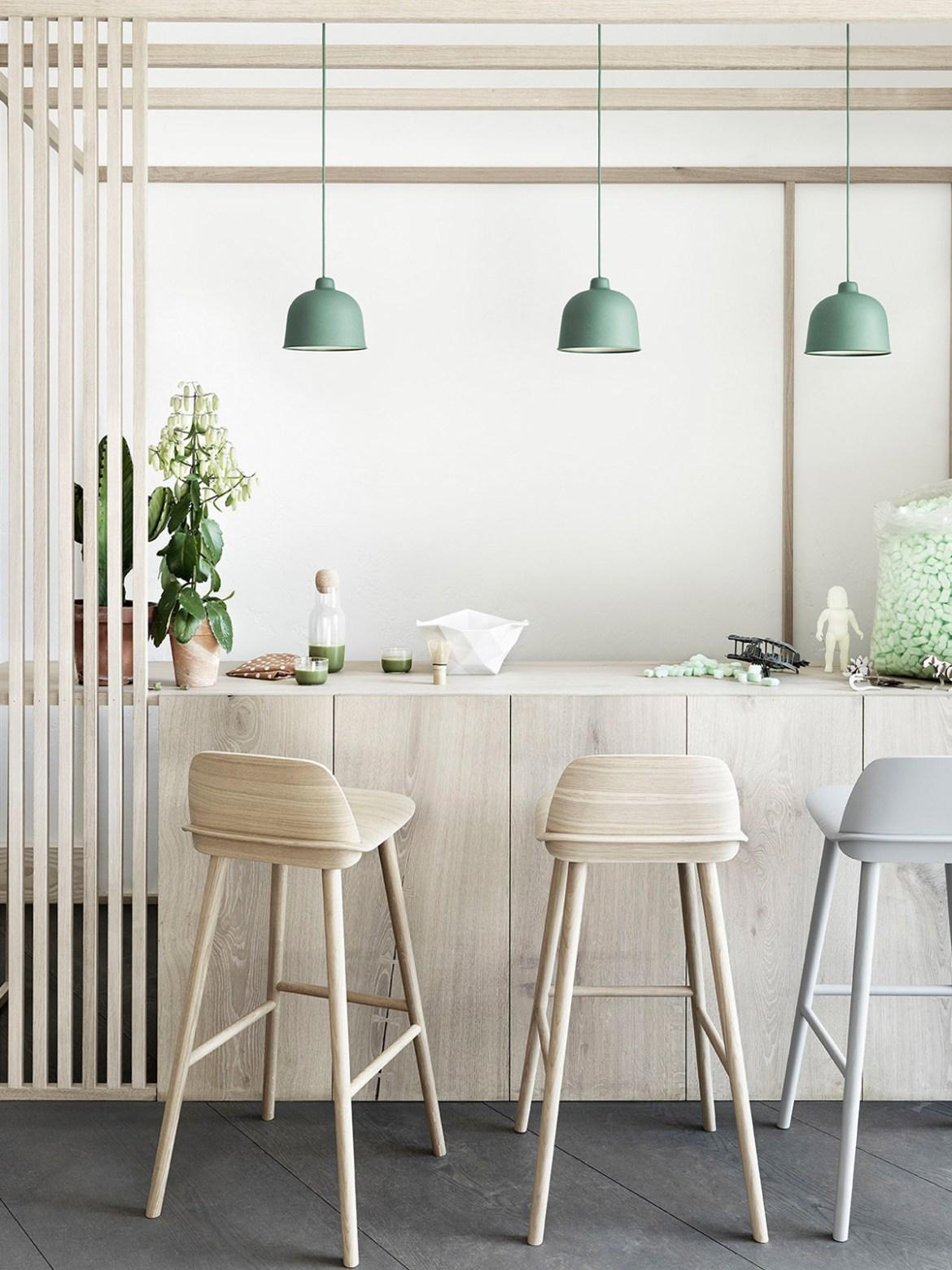 DesignOrt Blog: Designerleuchten aus Dänemark muuto bar Grain Pendelleuchte