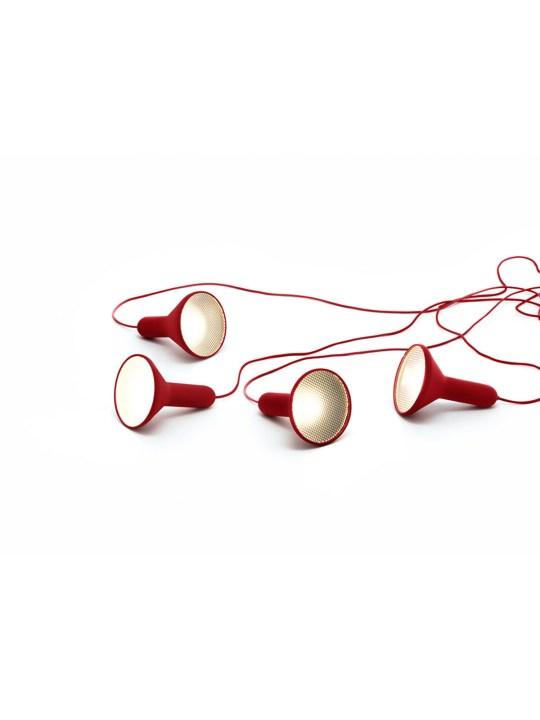 Torch Light Red Established and Sons DesignOrt Onlineshop
